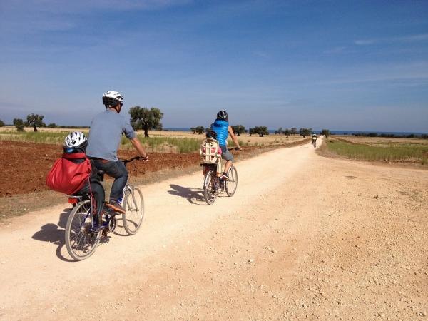 Cicloturismo in Puglia nella Valle dell'Itria ITALIA