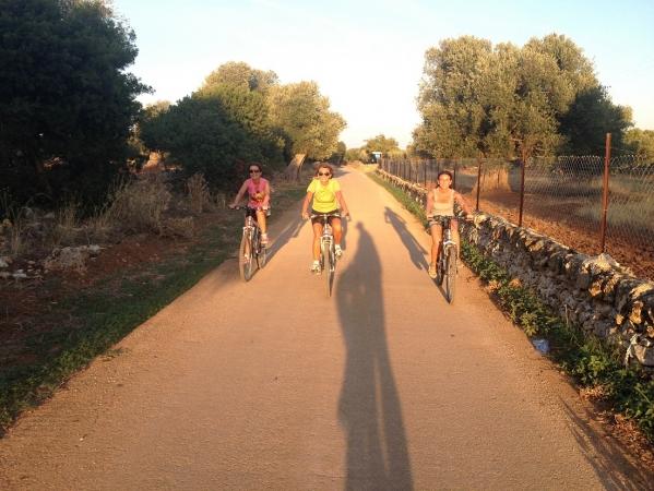 Tour Puglia in bici nella Valle dell'Itria ITALIA
