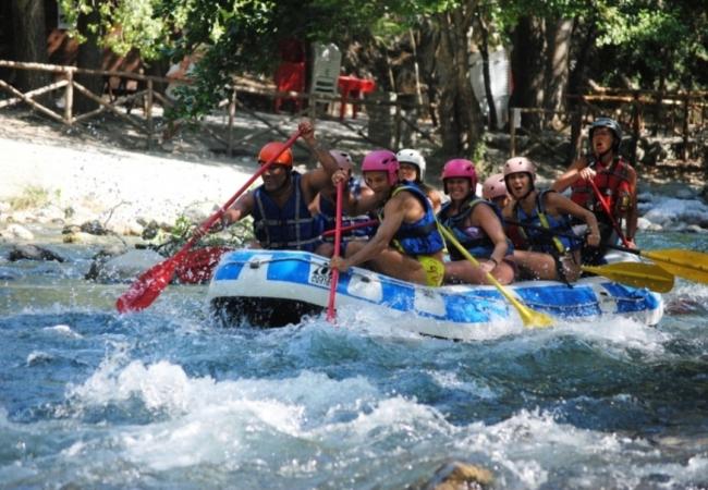 Tra rafting trekking e grotte Tour Calabria - Gruppi