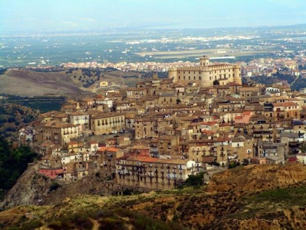 Rossano bizantina e castello di Corigliano