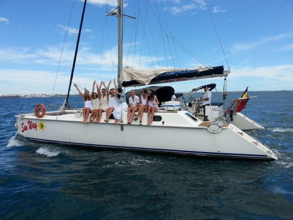 Week end in barca a vela nel Salento ITALIA