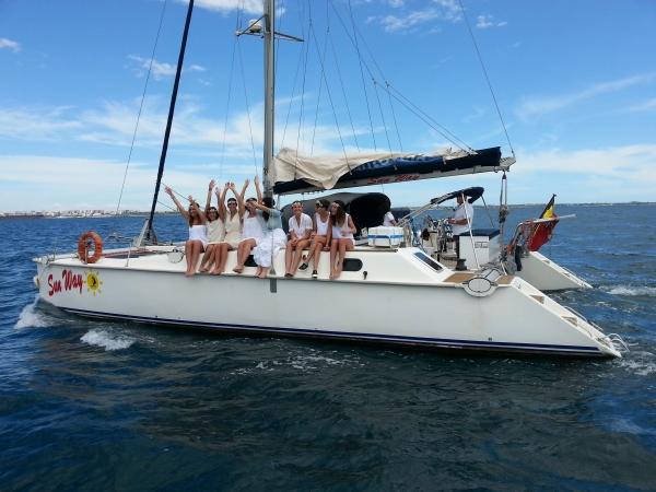 Week end in barca a vela nel Salento