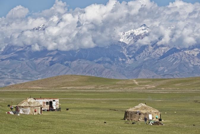 Kirghizistan in 4x4 ASIA