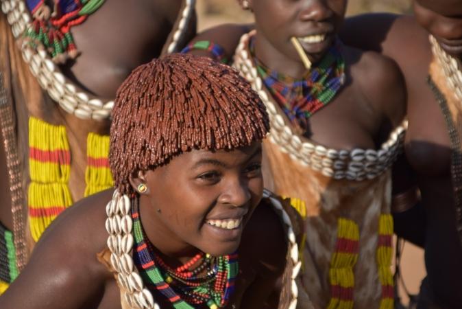 Rift Valley e trekking tra i villaggi hamer dei monti Buska AFRICA