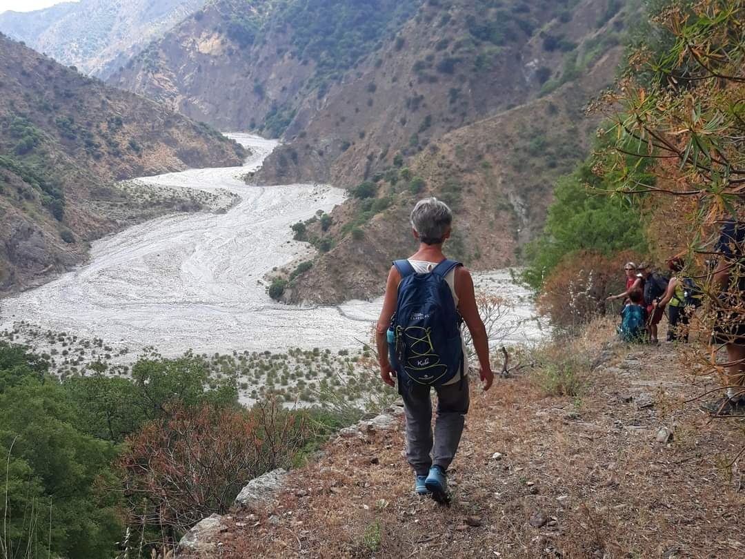 Trekking in Calabria ''da Amendolea a Bova''