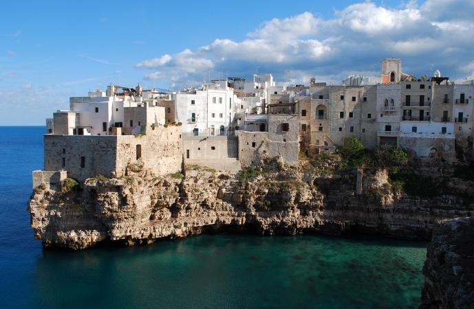 Polignano per mare e terrra Tour in Puglia