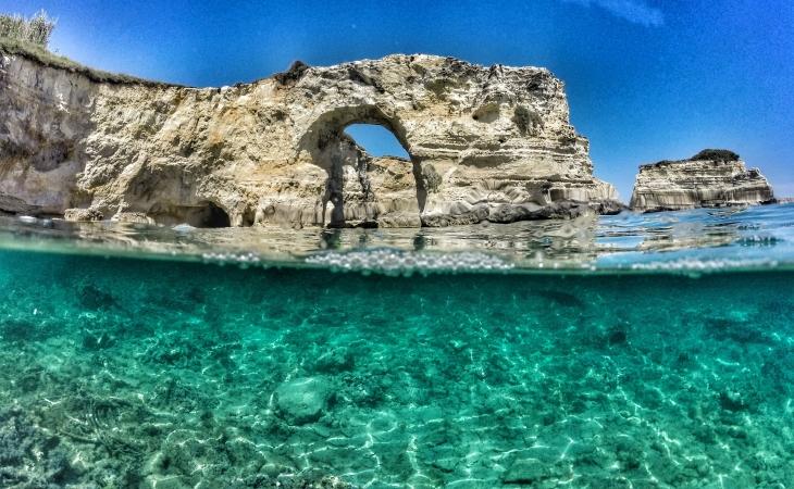 Tour tra escursioni in barca e castelli del Salento ITALIA