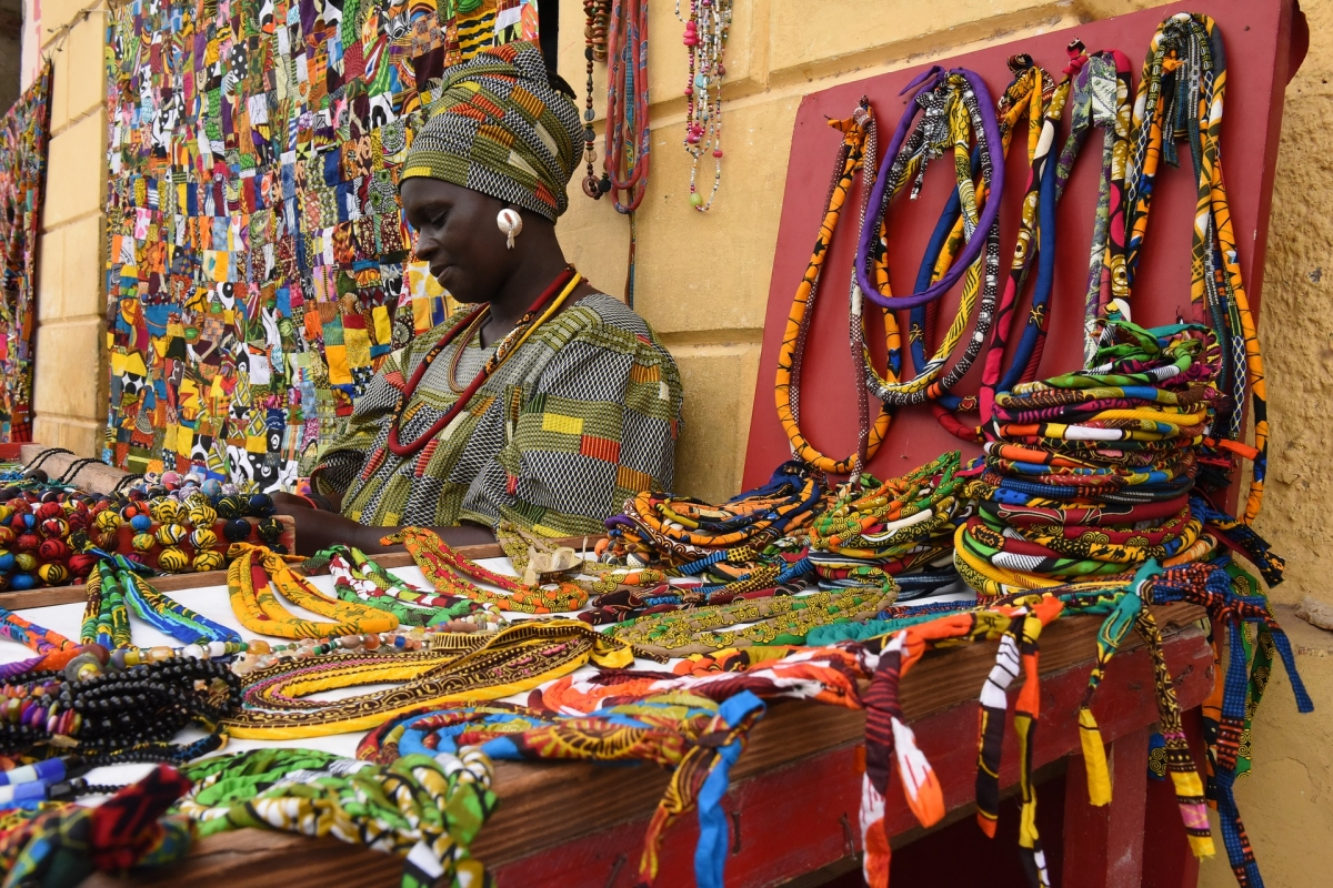 Colori e profumi del Senegal