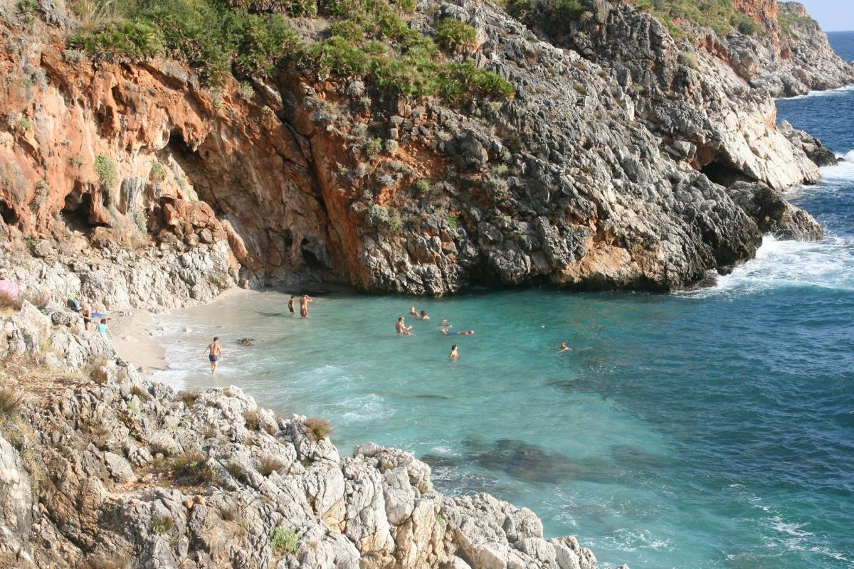 Sicilia araba, Isole Egadi e Riserva dello Zingaro